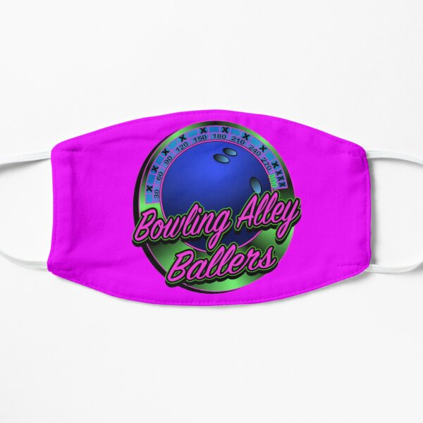 Bowling Alley Ballers Bowling Team Mask