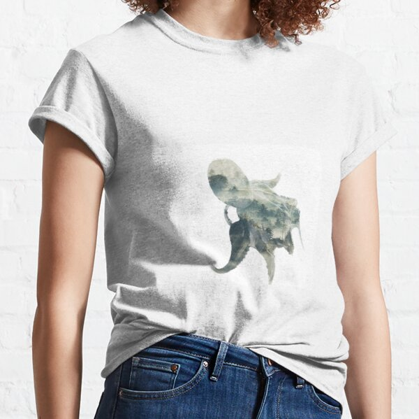 Atmospheric Octopus Classic T-Shirt