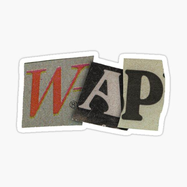 """""""WAP"""" Sticker"""