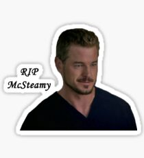RIP McSteamy Sticker