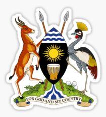 Coat of Arms of Uganda Sticker