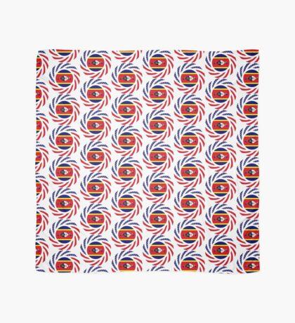 Swazi American Multinational Patriot Flag Series Scarf