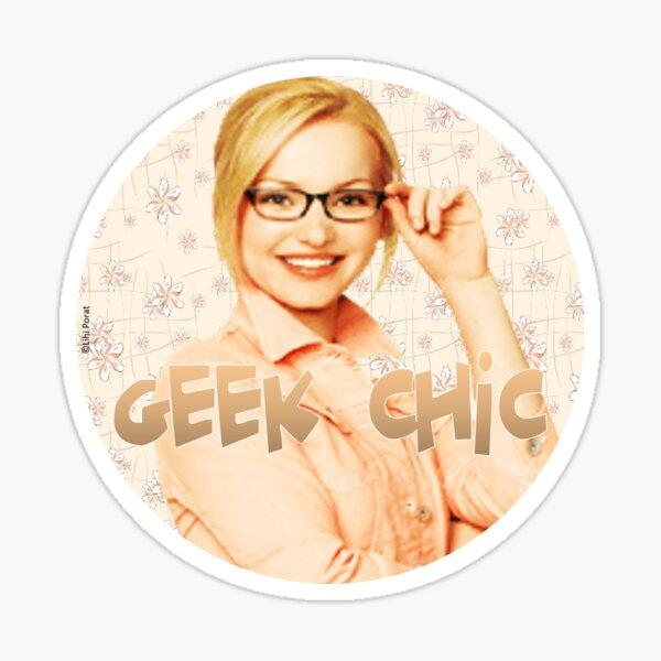 Geek Chic Sticker