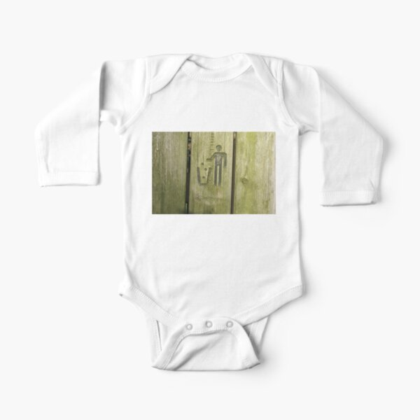 Trash Long Sleeve Baby One-Piece