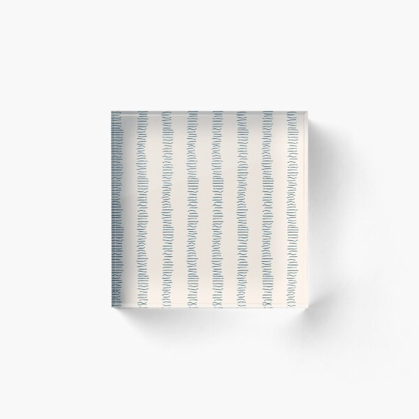 Minimalist Lines Acrylic Block