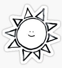 cute sun Sticker