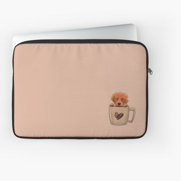 More Pup in a Cup Laptop Sleeve