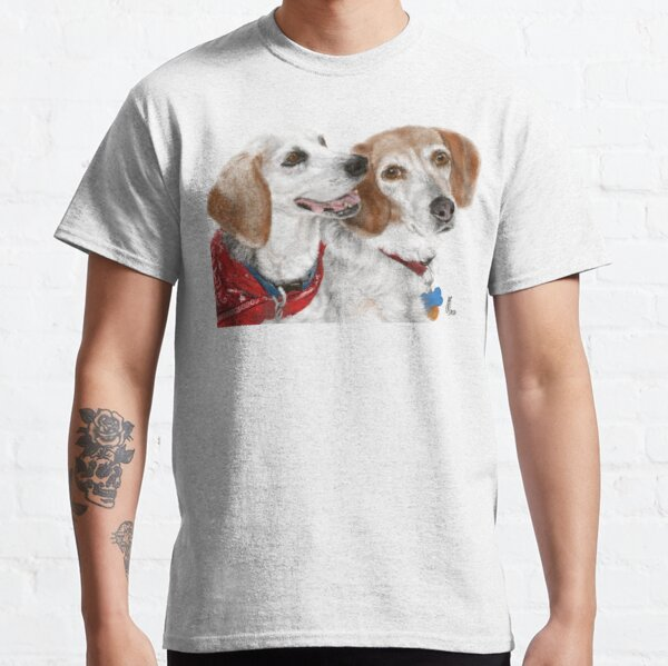 Best Friend Pooches  Classic T-Shirt
