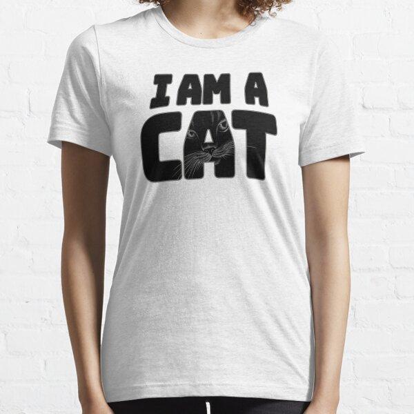 I am a cat Dwarf Halloween costumes Lazy easy funny 2020| cat halloween costumes funny| masks cat easy halloween costumes for teenage girl Essential T-Shirt
