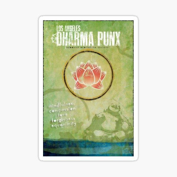 Dharma Punx Design Sticker