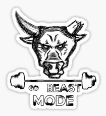 Go Beast Mode Sticker