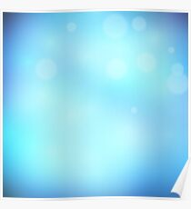 Abstract background blue colour  Poster