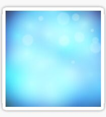 Abstract background blue colour  Sticker