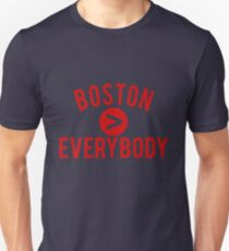 Boston > Everybody - Go Pats! Go Sox! T-Shirt
