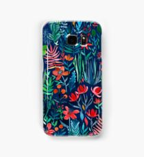 Tropical Ink - a watercolor garden Samsung Galaxy Case/Skin