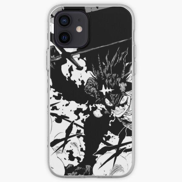 Black Asta's rage - Black Clover iPhone Soft Case