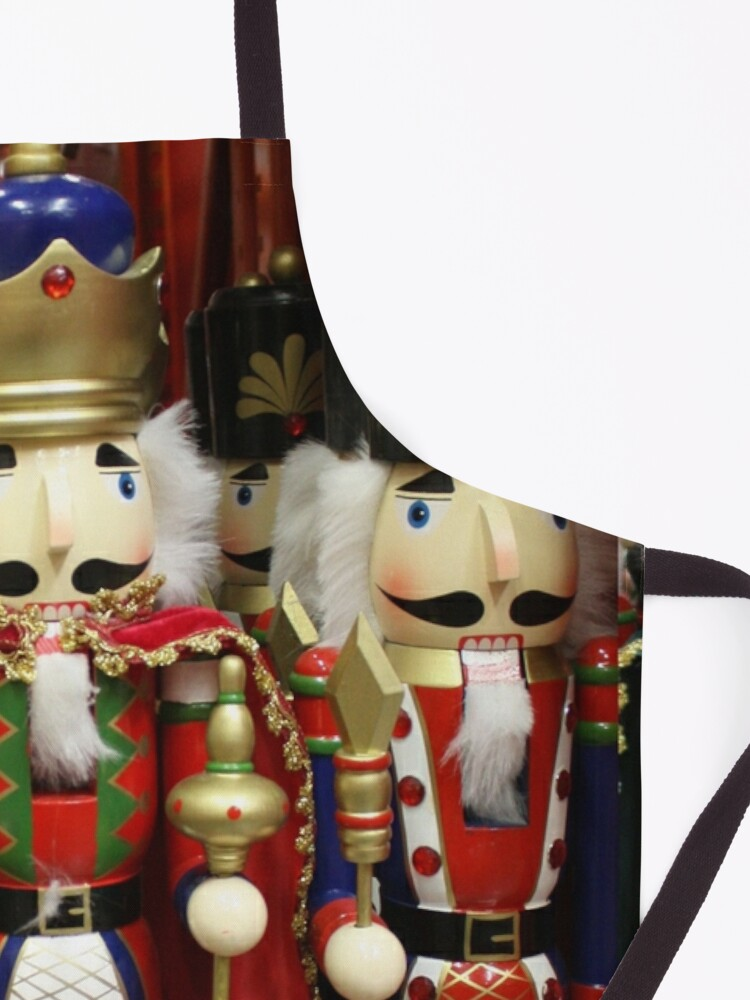 Alternate view of Nutcracker Soldiers Apron