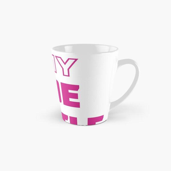 My 9-5 Is My Side Hustle Pink Tall Mug