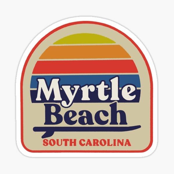 Myrtle Beach South Carolina Decal Sticker