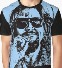Big Lebowski Blue 1 Graphic T-Shirt