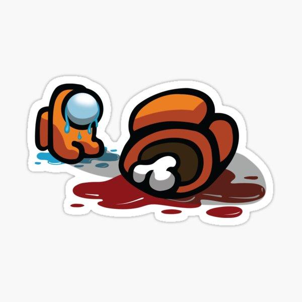 Entre nosotros Crying Pet Dead Body Pegatina