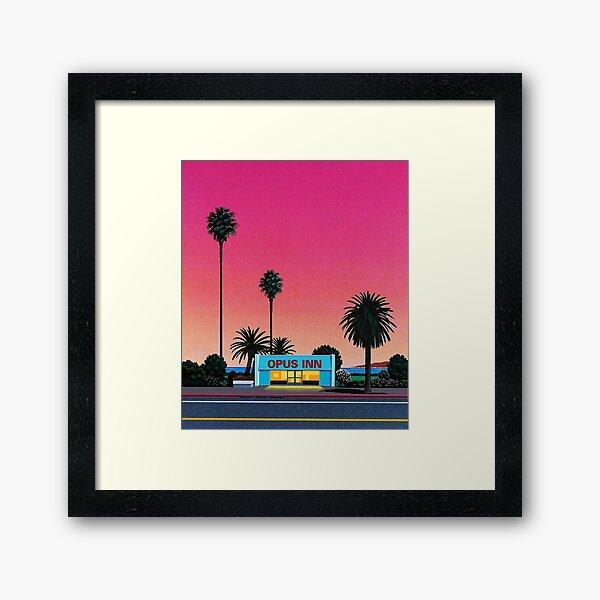 Hiroshi Nagai Vaporwave Framed Art Print