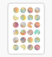 Colored World Sticker