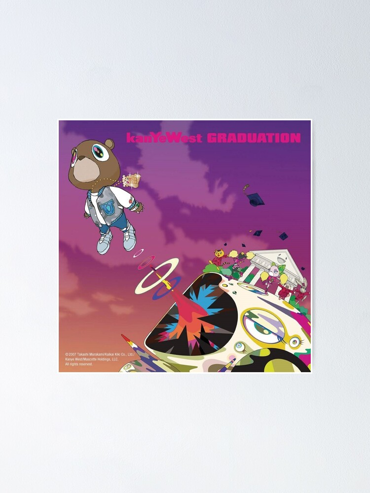 Alternate view of Kanye West, Graduation (2007) Poster