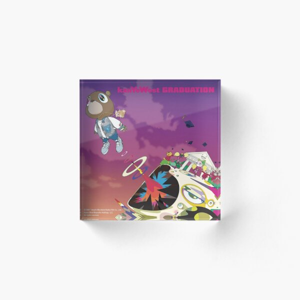 Kanye West, Graduation (2007) Acrylic Block