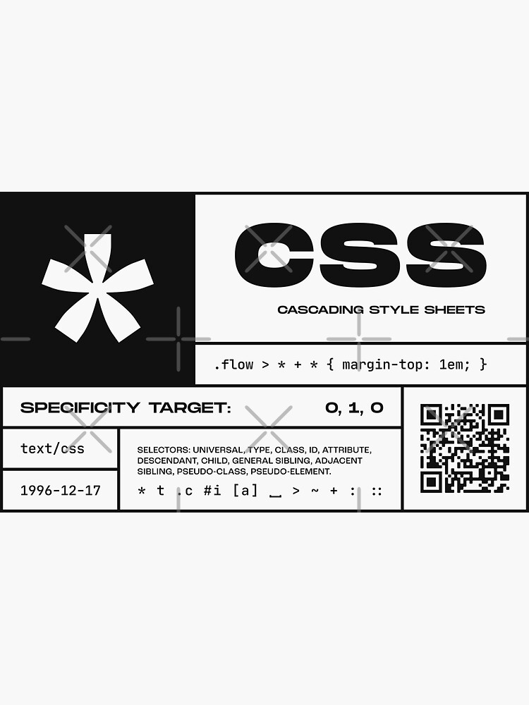CSS Fact Sheet by ckirknielsen