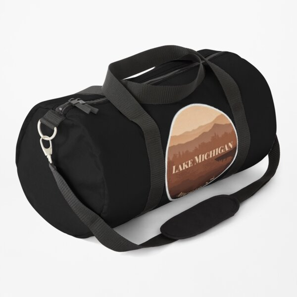 Lake Michigan, Michigan Duffle Bag