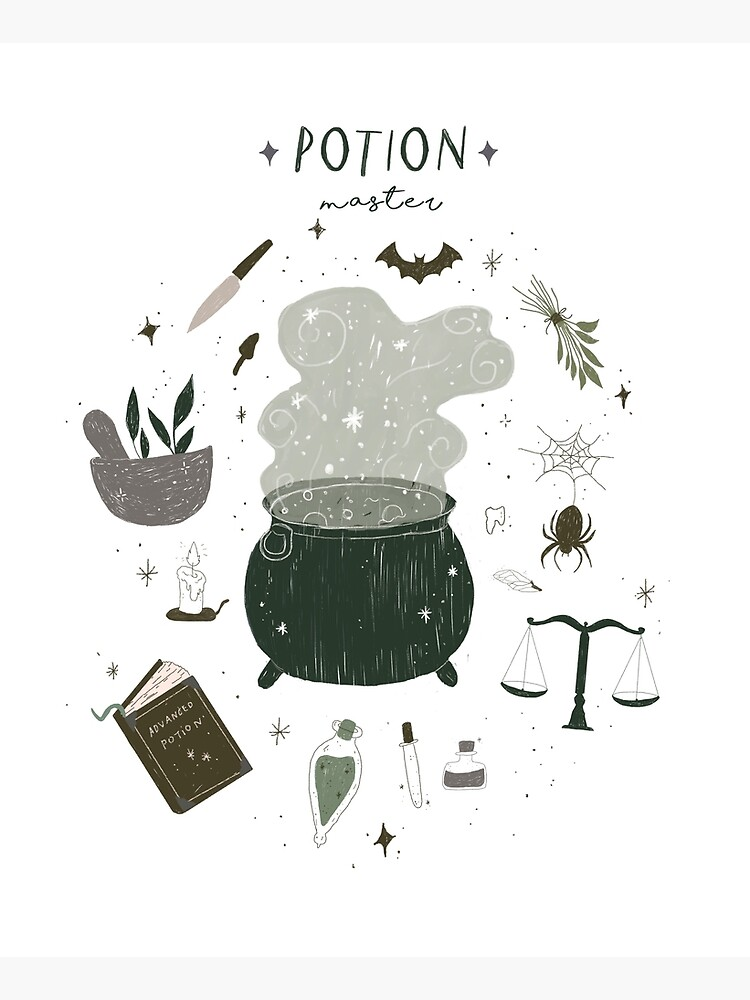 Potion Master by themagicianspub