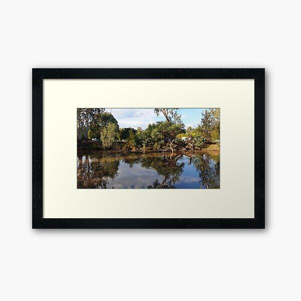 Wangaratta River View Framed Art Print