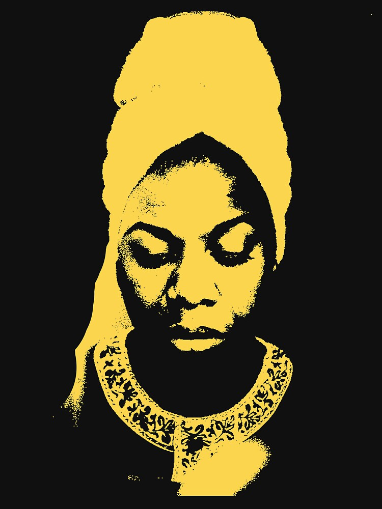 Nina Simone Gelb von givemefive