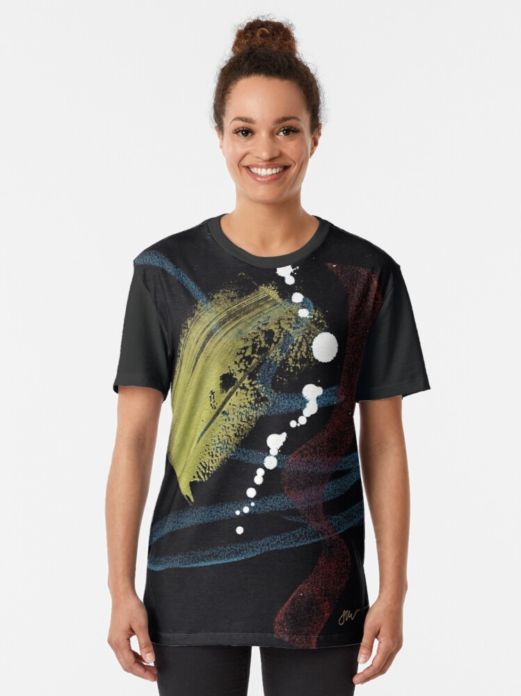 Alternate view of Ascending Graphic T-Shirt