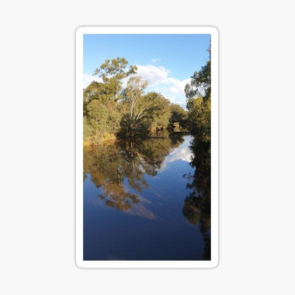 Wangaratta River view  Sticker