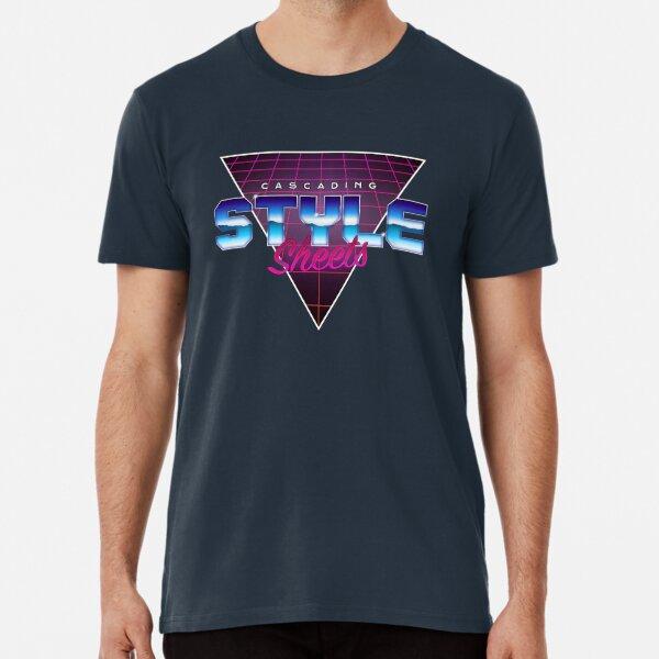 Retro CSS Premium T-Shirt