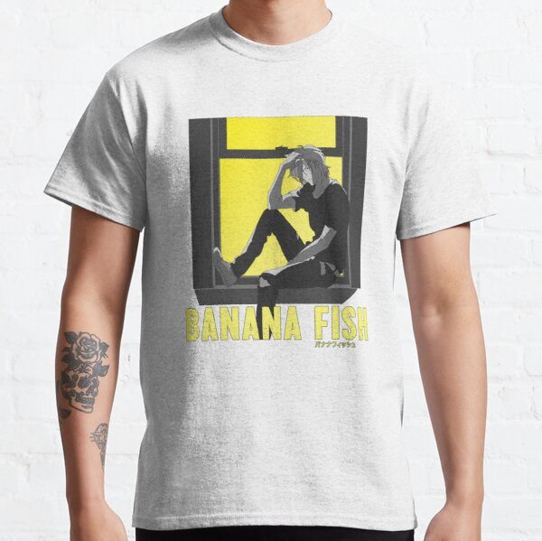 Appui de fenêtre Ash - Banana Fish T-shirt classique