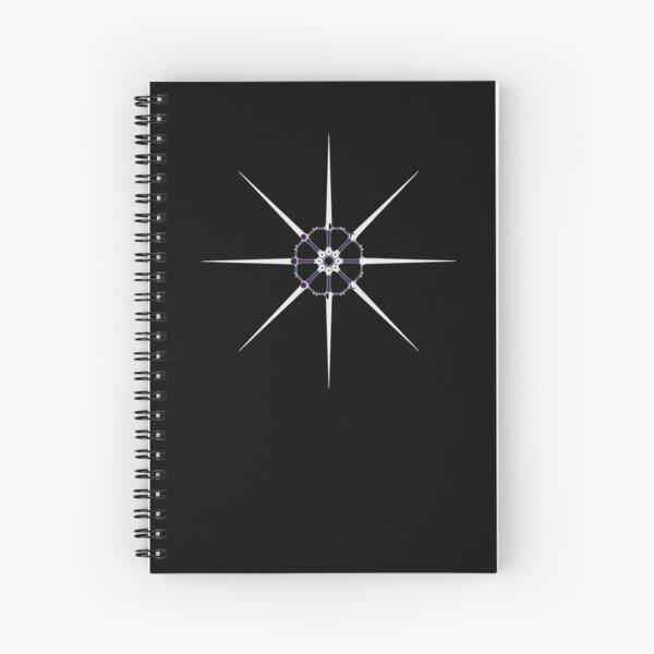 Lunar Cycle of Swords Spiral Notebook