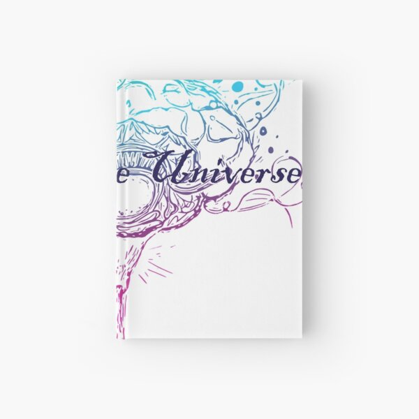 Rainbow Ink Neurodiverse Universe Hardcover Journal