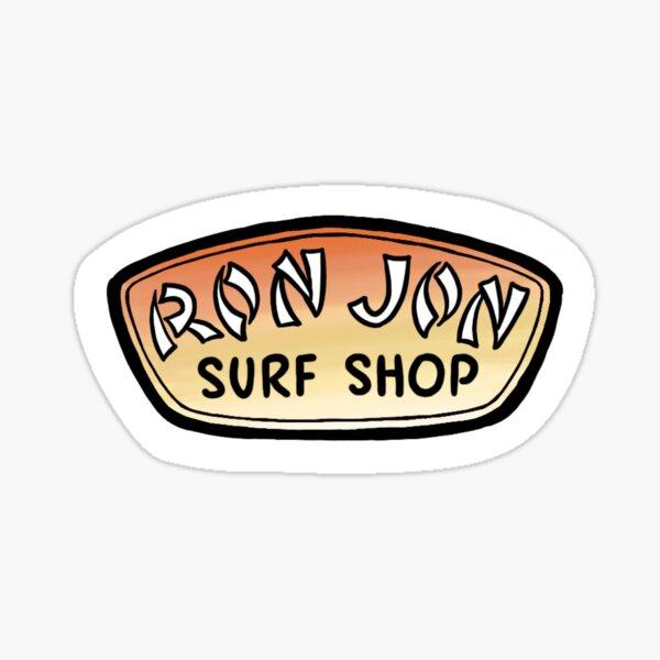 ron jon logo Sticker