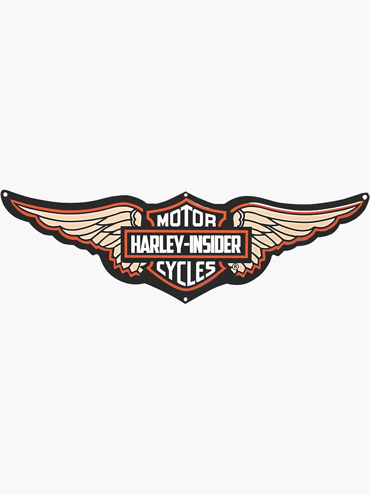 super price Harley davidson stickers decals motorcycle logo all sizes