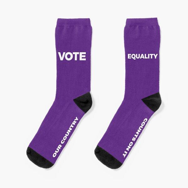 VOTE EQUALITY Socks Socks