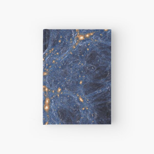 Our Home Supercluster, Laniakea, Supercluster of Galaxies Hardcover Journal