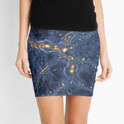 Our Home Supercluster, Laniakea, Supercluster of Galaxies Mini Skirt