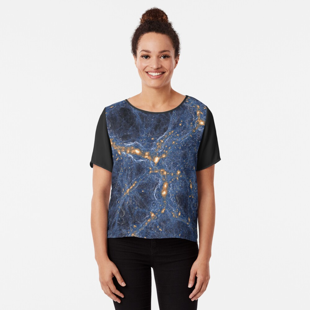 Our Home Supercluster, Laniakea, Supercluster of Galaxies Chiffon Top