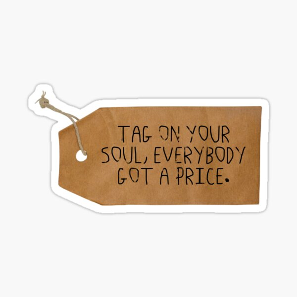 Tag On Your Soul Sticker