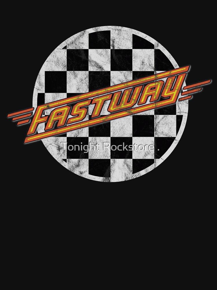 Best Seller classic Rock n Roll Hard Rock sleaze Heavy Metal nwobhm Fastway by DonRafael