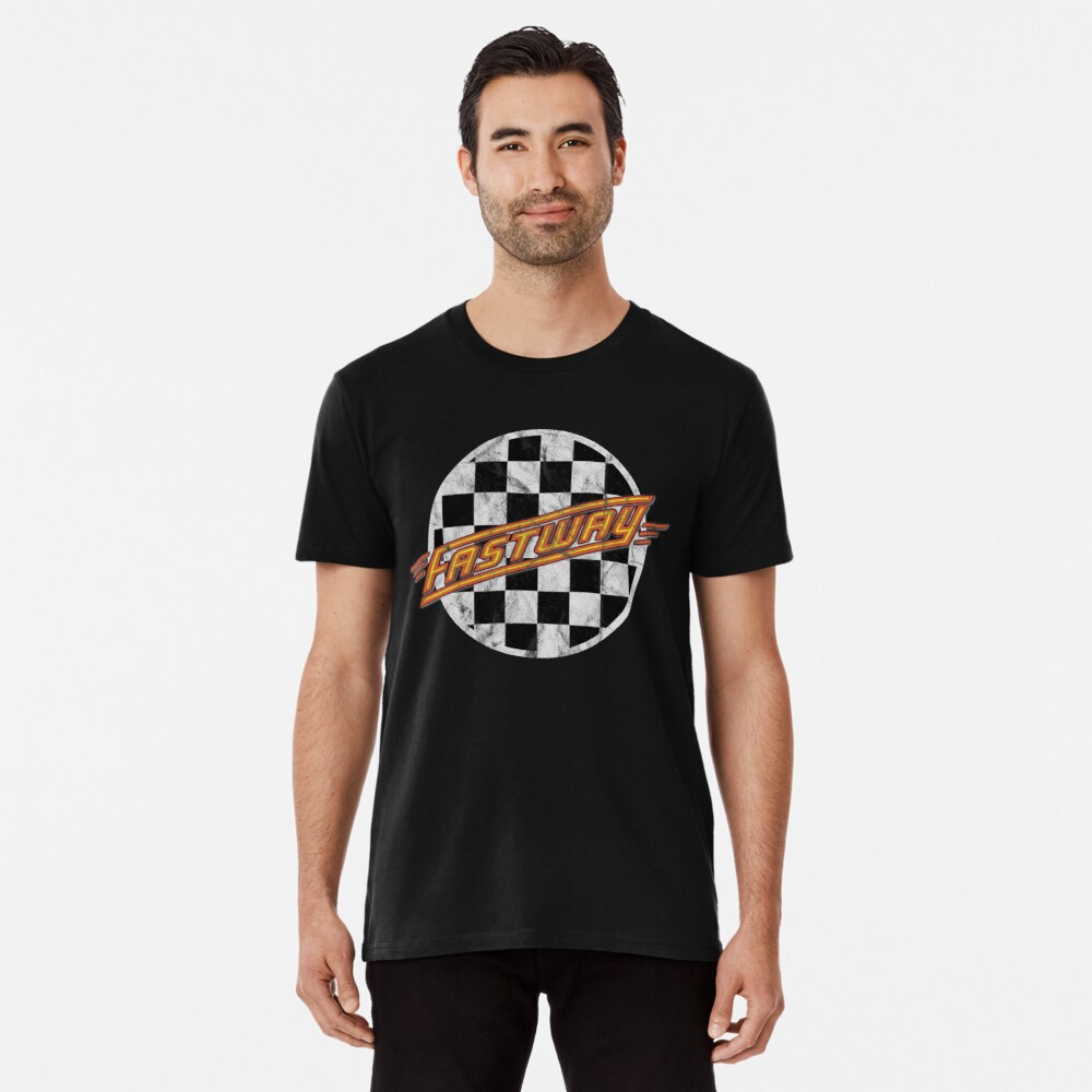 Best Seller classic Rock n Roll Hard Rock sleaze Heavy Metal nwobhm Fastway Premium T-Shirt
