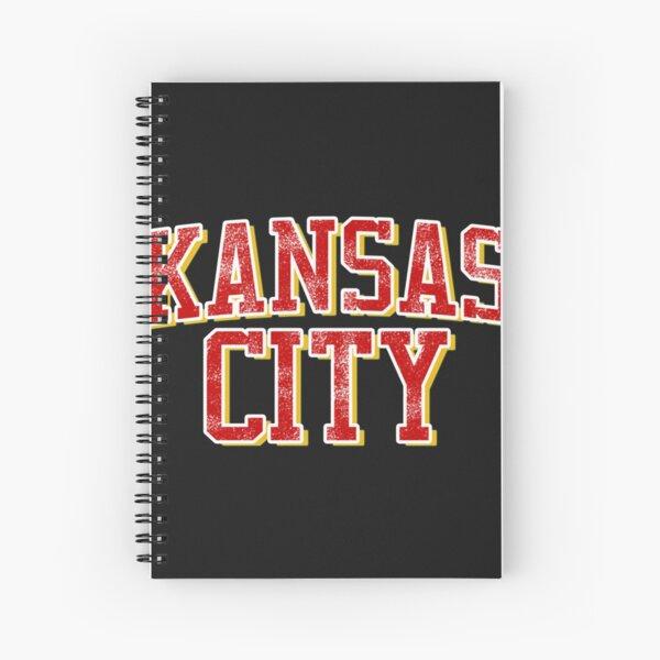 Kansas City-KC Football Spiral Notebook